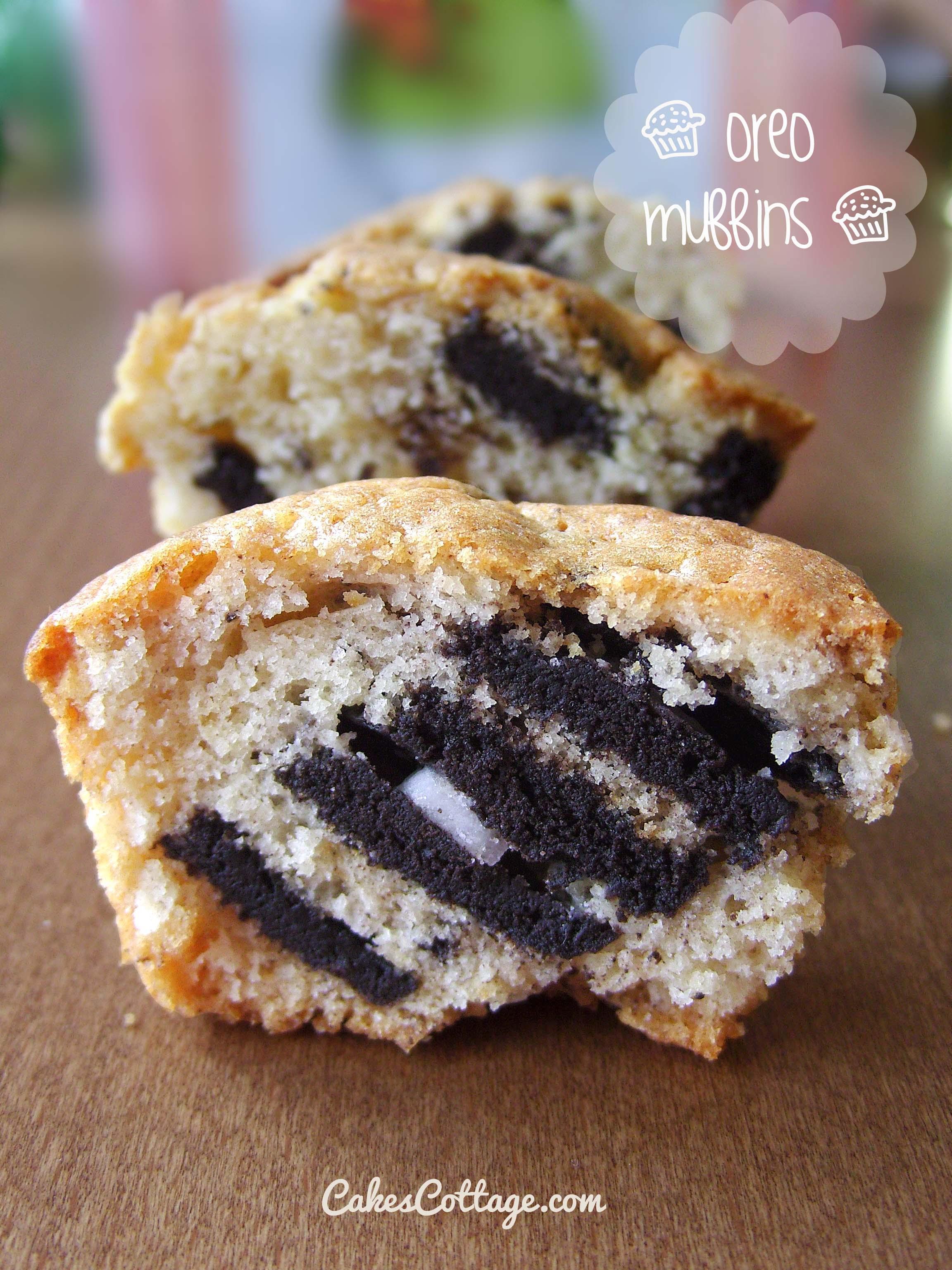 Oreo-Muffins
