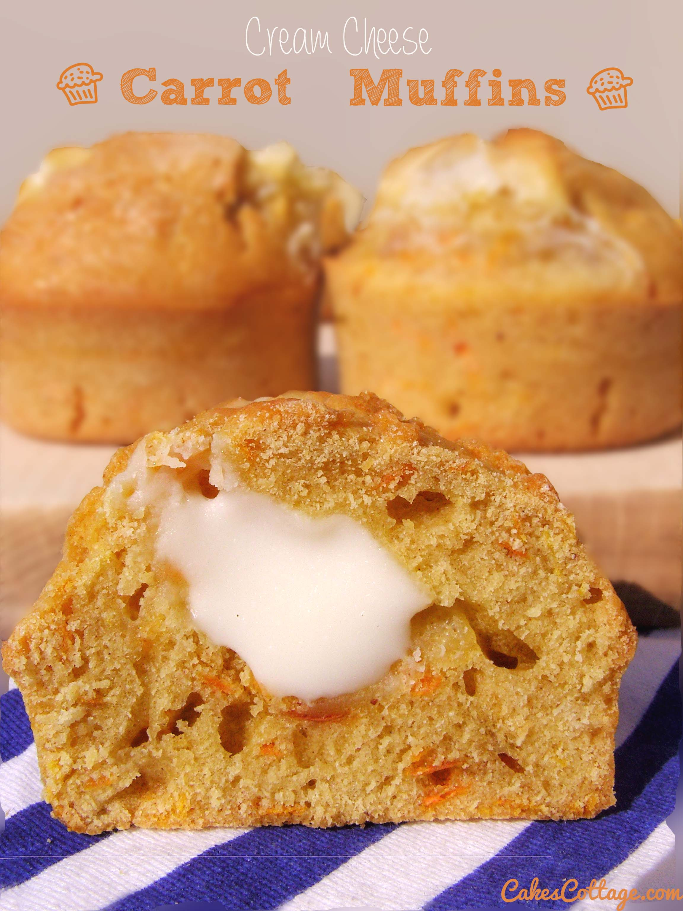Cream-Cheese-Carrot-Cake-Muffins