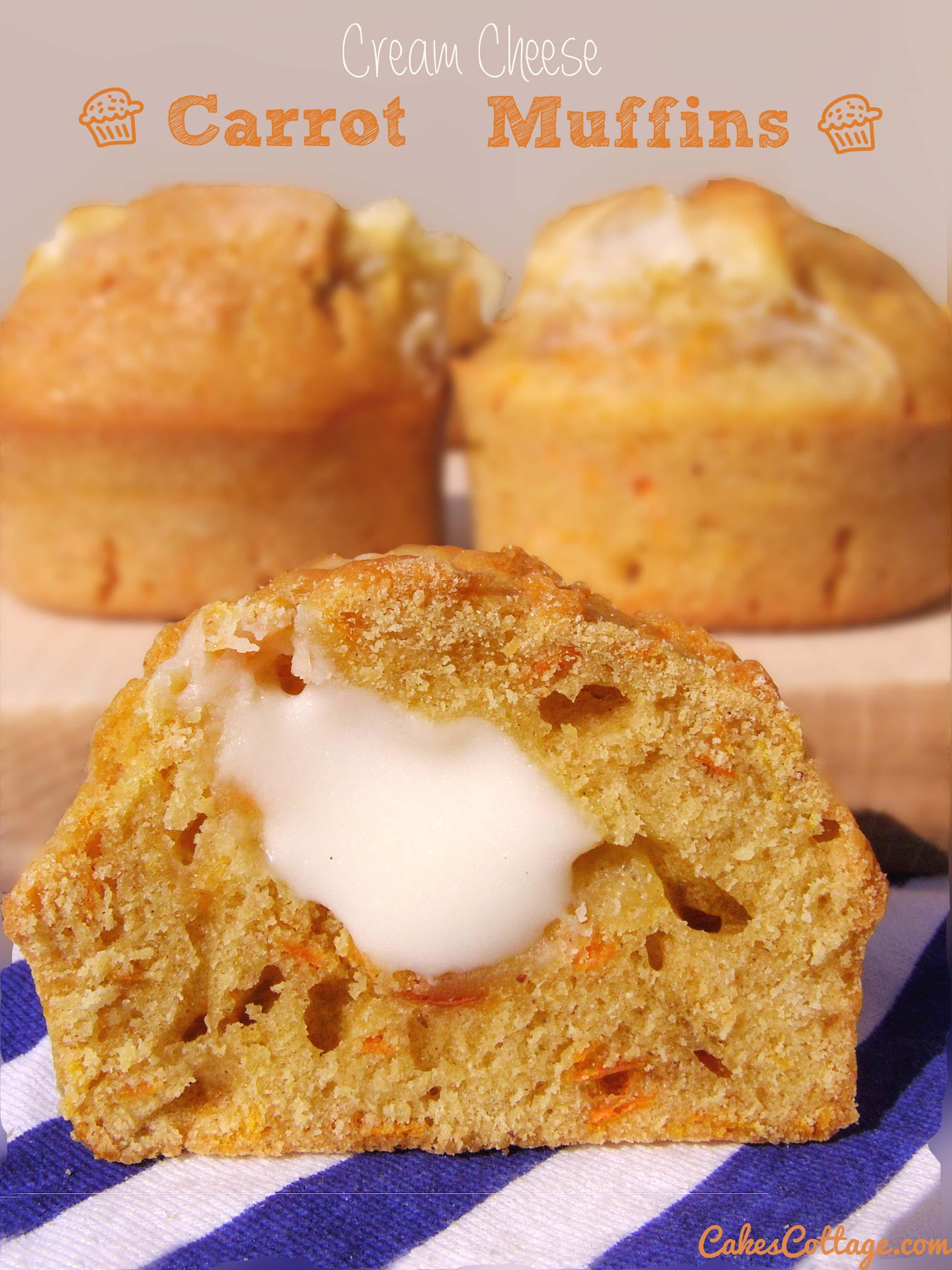 Cream-Cheese-Carrot-Cake-Muffins