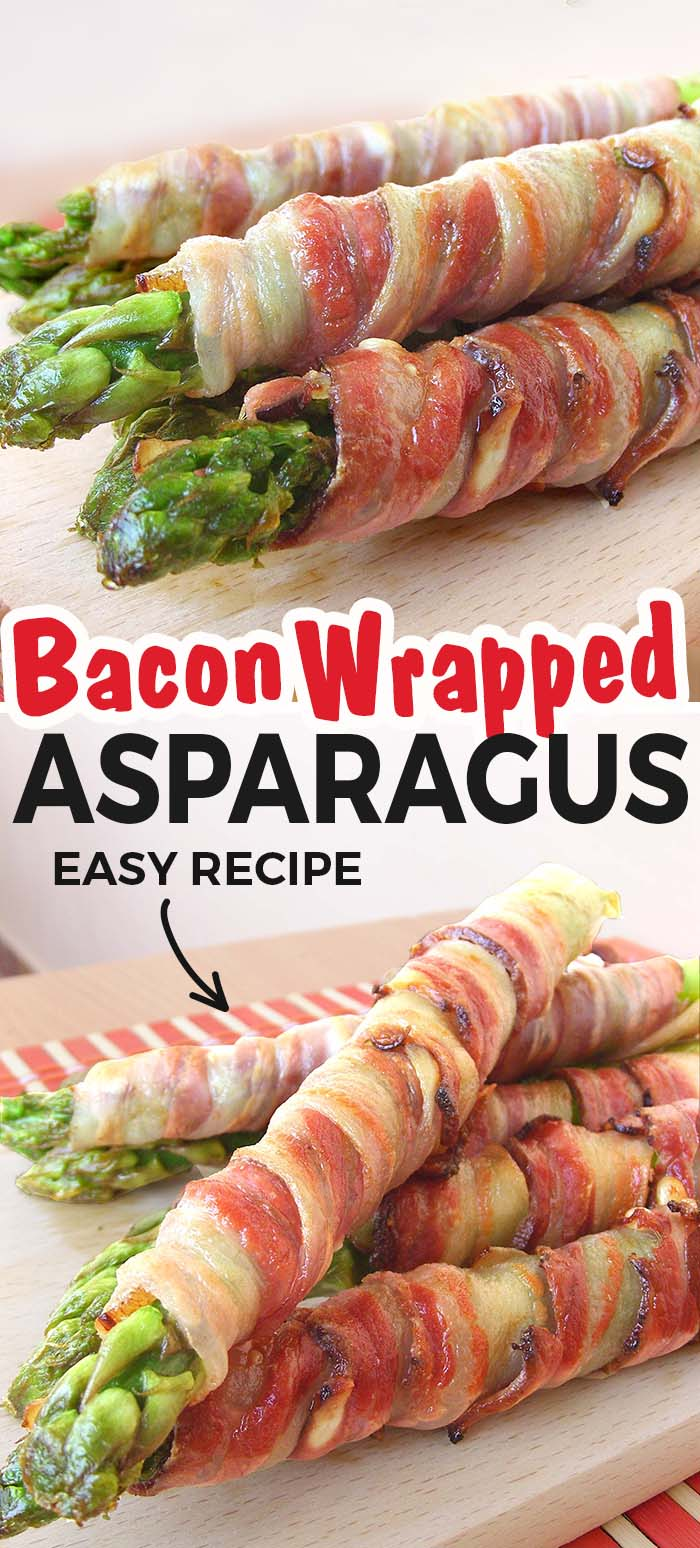 These bacon wrapped asparagus are so simple to make and so delicious!
