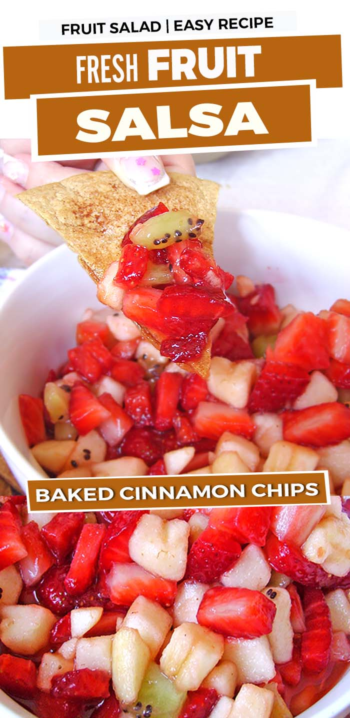 Who's ready for Summer?!  Fresh fruit drizzled with sweet jam served with buttery, cinnamon chips, fragrant from the oven…