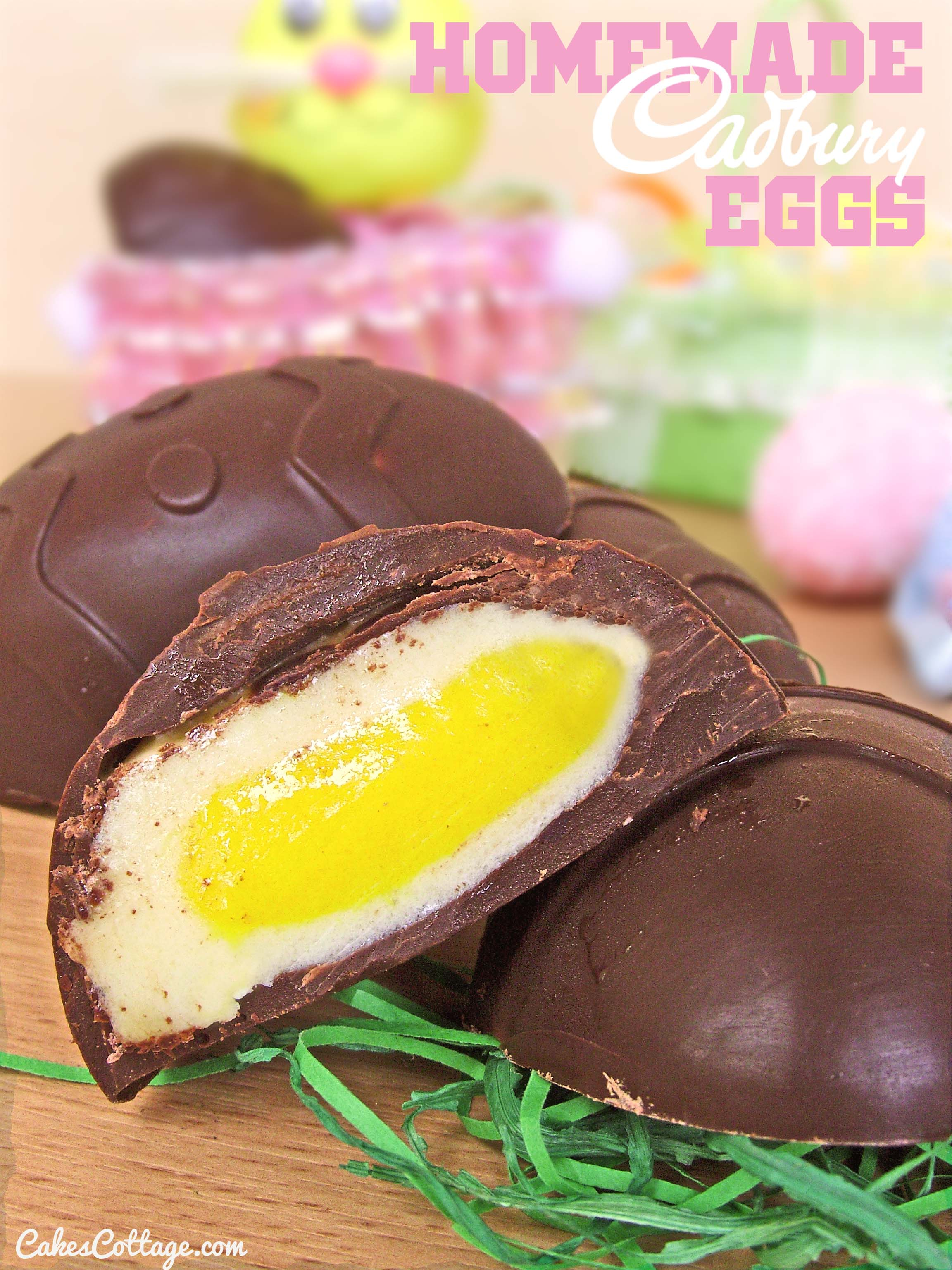 Homemade Cadbury Eggs | Cakescottage