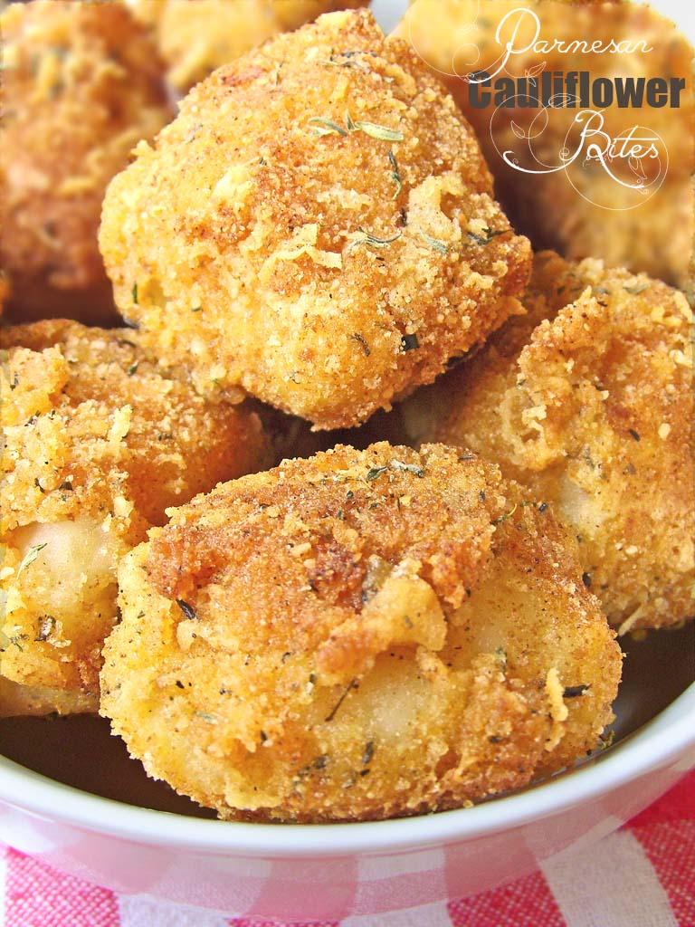 Parmesan-Cauliflower-Bites