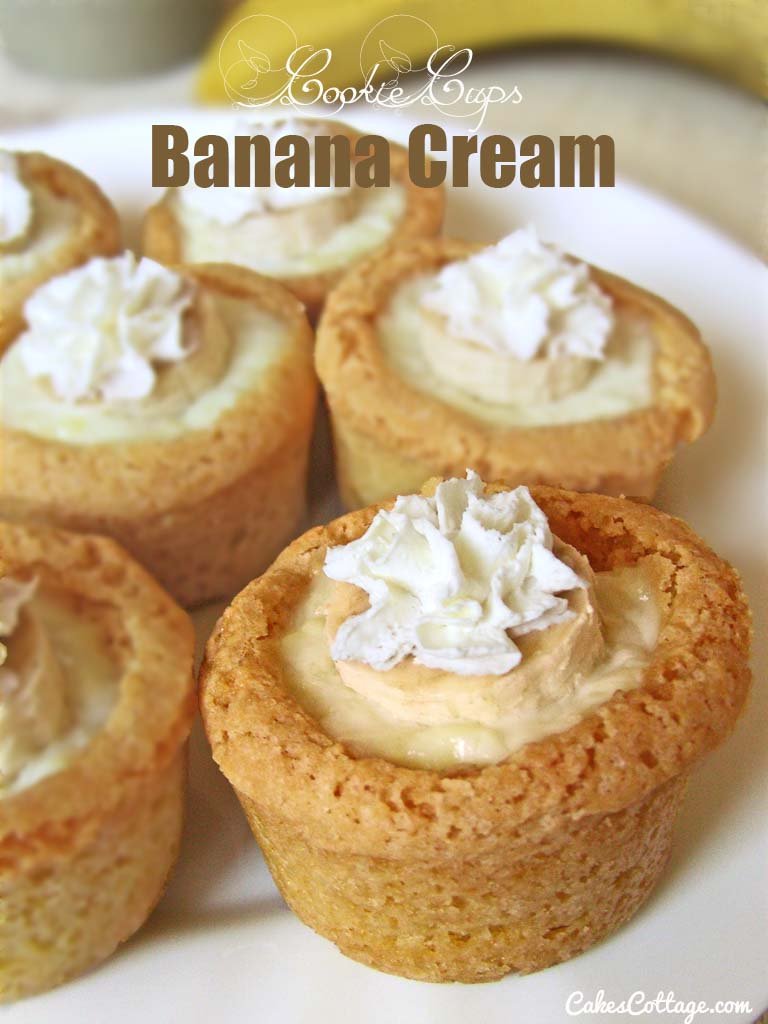 Banana-Cream-Cookie-Cups