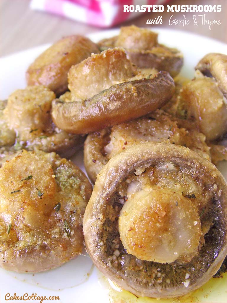 Roasted-Mushrooms-with-Garlic-Thyme
