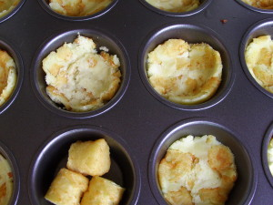 Potato & Omelet Breakfast Muffins