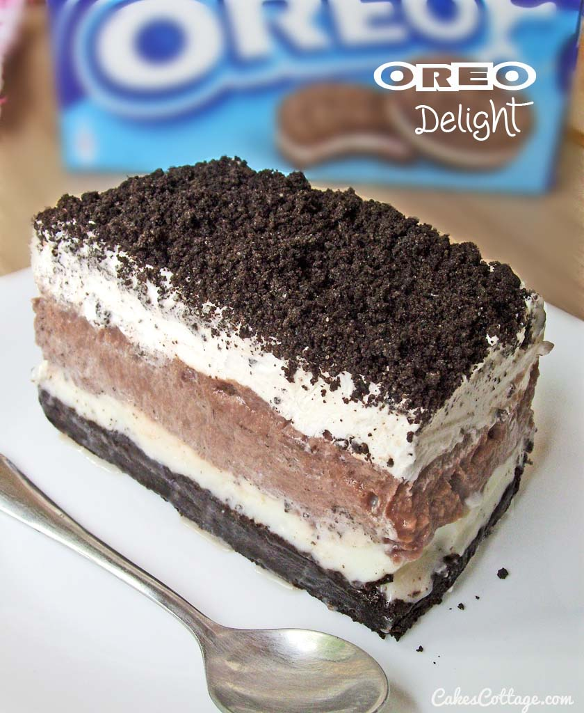 Oreo Delight with Chocolate Pudding | Cakescottage