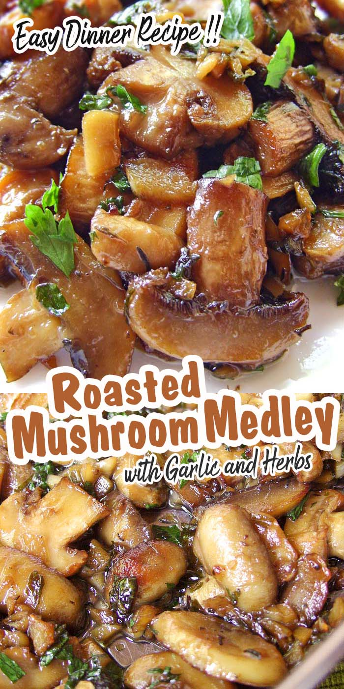 The easiest, most flavorful mushrooms you will ever make. Perfect for a quick weeknight family dinner.