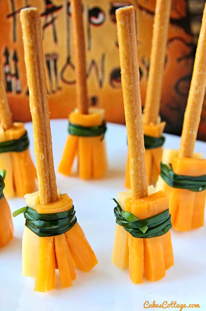Cheesy Witches Broomsticks