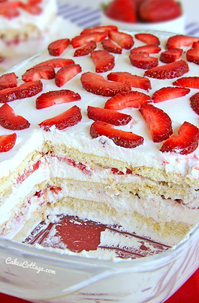 Best Strawberry Cake Recipe Using Cake Mix