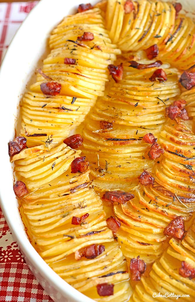 Crispy Potato Roast Cakescottage