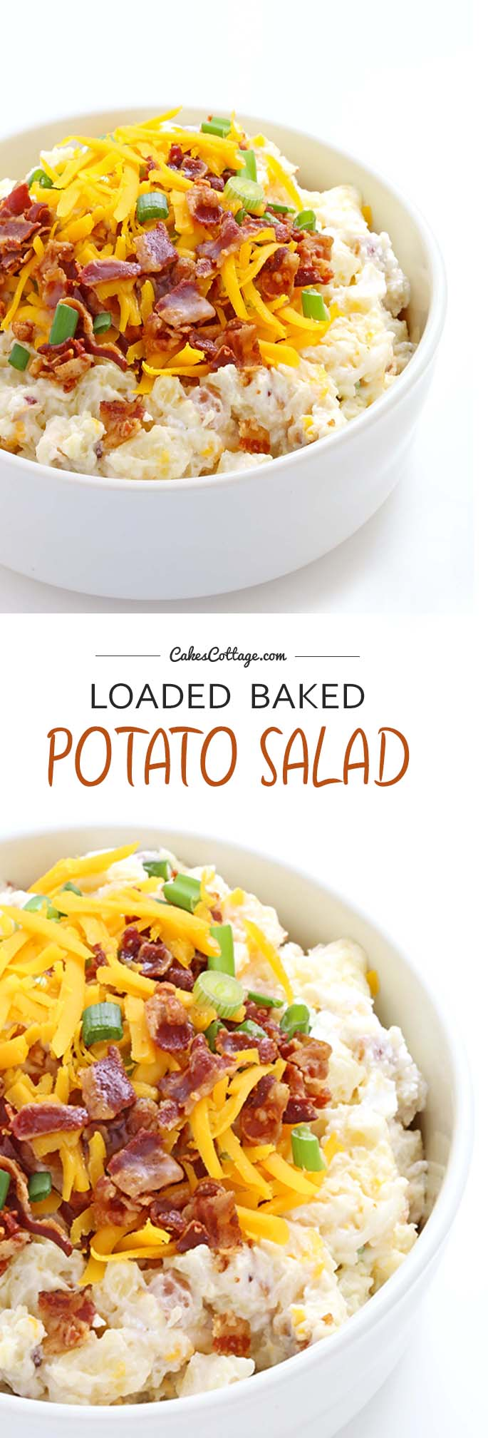 Loaded Barbeque Potato Salad Recipe — Dishmaps