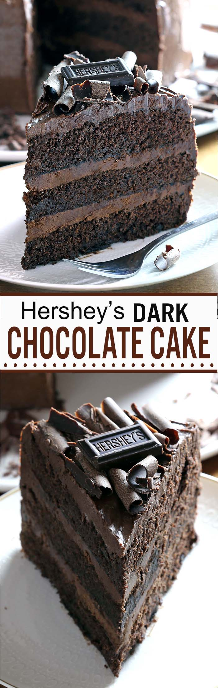 Dark Chocolate Cake | Cakescottage