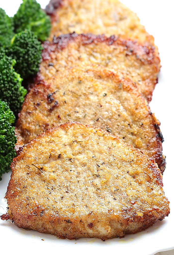 Baked Garlic Parmesan Pork Chops is one of those everyone-should-know-how-to-make recipes and somehow still rivals a restaurant-quality meal. It's easy, juicy and delicious and comes together quickly. In fact, it's hard to mess up!