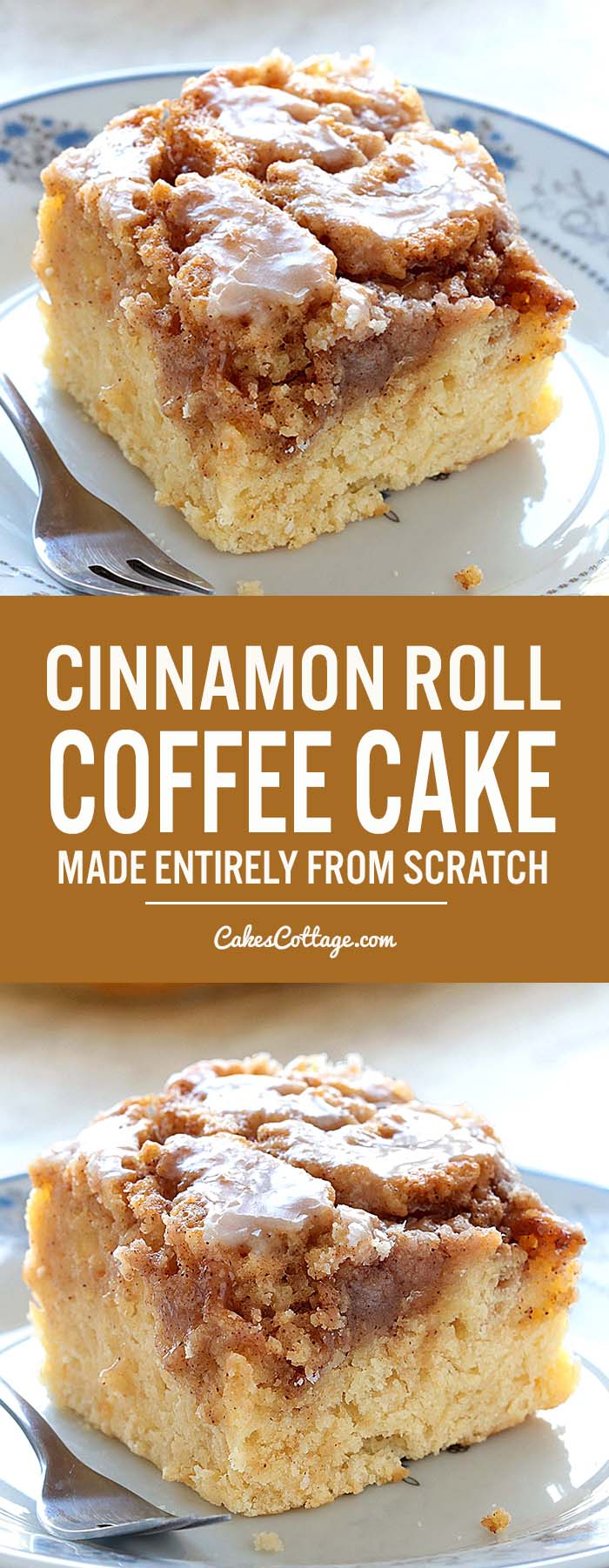 Easy Cinnamon Roll Coffee Cake Is Simple And Quick Recipe For Delicious Homemade