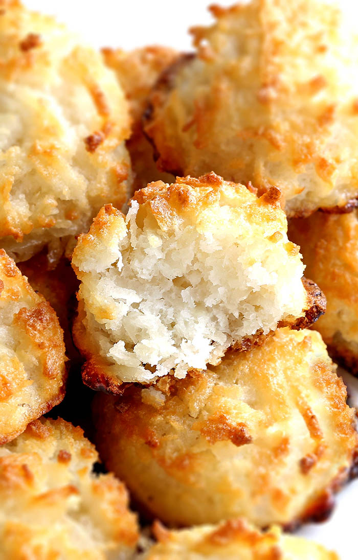 Easy Coconut Macaroons Cakescottage
