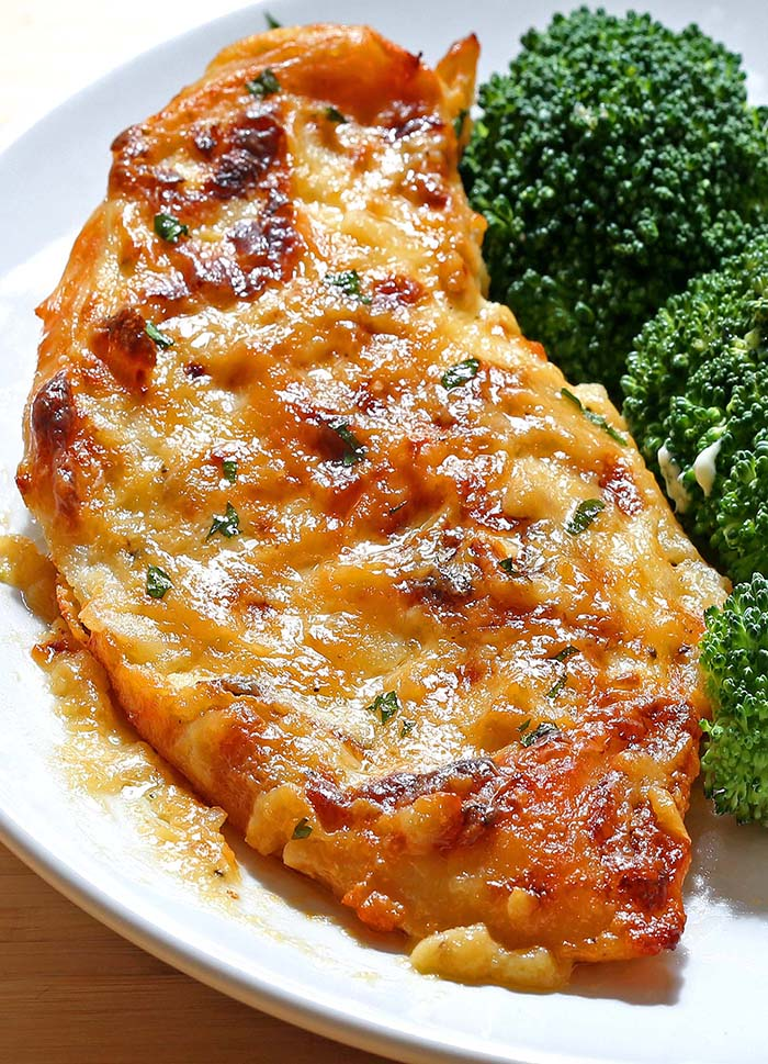 Full of flavor, moist, tender melt in your mouth chicken and best of all, simple to make!
